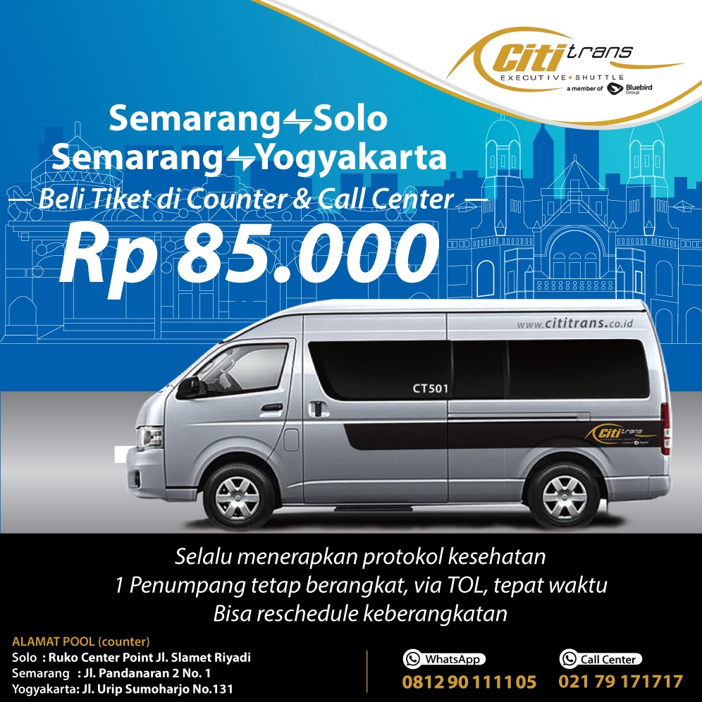 Promo counter Semarang